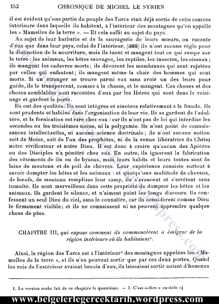 chronique de michel le syrien cok evlilik Islamda 4 evlilik sayfa 152