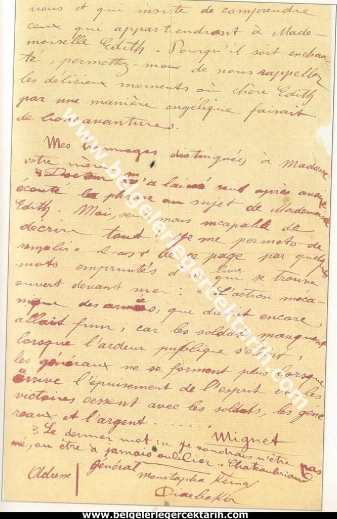 m. kemal atatürkün madame corinne yazdigi mektup 6 mayis 1916 atatürk madam corinne 2