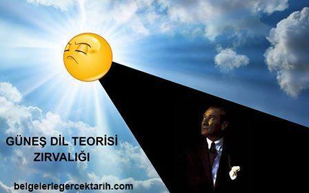 Atatürk günes dil teorisi zirvaligi m. kemal günes dil teorisi nedir