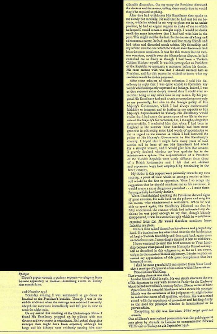 gazete sunday times telgrafin asli
