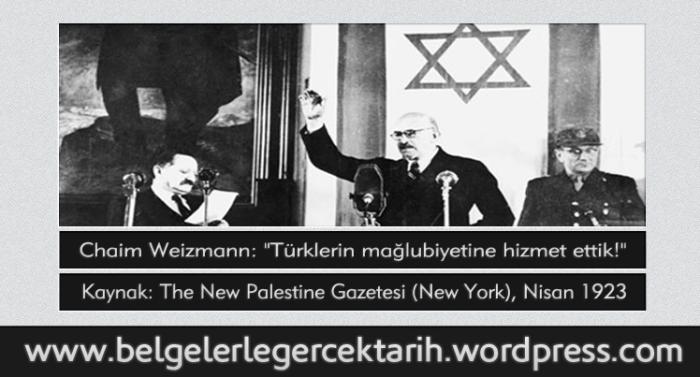 chaim weizmann hayim waizman israil devleti ne zaman kuruldu israil devleti filistin israil Abdülhamid yahudi devleti