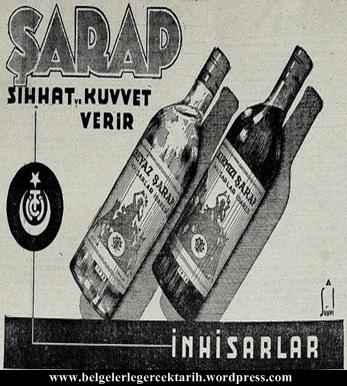 sarap sihhat ve kuvvet verir, atatürk bira fabrikasi atatürk sarap atatürk raki atatürk icki