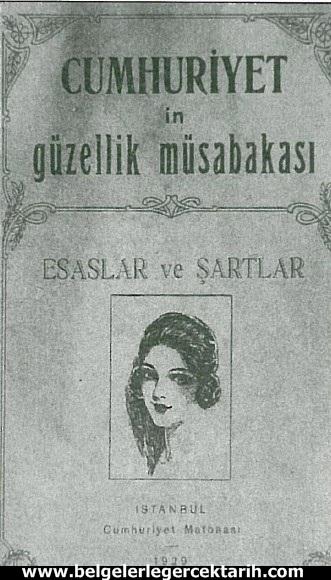atatürk güzellik yarismasi kemal güzellik yarismasi cumhuriyet gazetesi 6