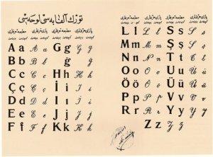 harf inkilabi, harf devrimi, yazi devrimi, atatürk harf inkilabi, harf inkilabi okuma yazma oranlari, osmanlida okuma yazma oranlari