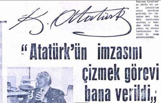 Atatürkün imzasi sahte mi ayasofya kararnamesi sahte mi, atatürk ayasofya imzasi, m. kemalin imzasi sahte mi, m. kemal ayasofya kararnamesi, m. kemal ayasofya imzasi vahap cerciyan 1