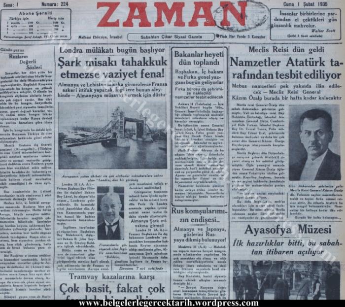 ayasofya-zaman-gazetesi