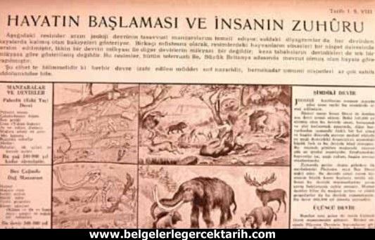 atatürk dönemi ders kitaplari darwinizm evrim teorisi atatürk darwinizm, atatürk evrim teorisi atatürk ateist miydi, m. kemal darwinizm, atatürk dönemi din dersi atatürk din dersleri hayatin baslamasi ve insanin zuhuru