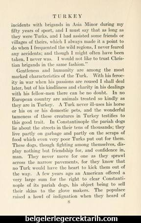 edward frederick knight osmanlinin hayvan sevgisi osmanli hayvan haklari, osmanlida hayvanlar osmanli medeniyeti