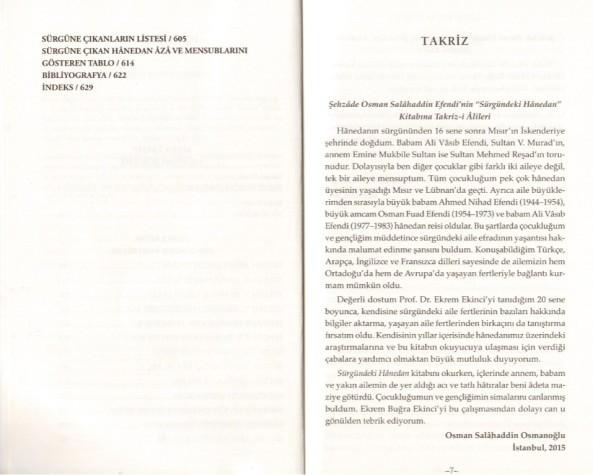 Ekrem Buğra Ekinci, Sürgündeki Hânedan Osmanlı Ailesinin Cileli Asrı