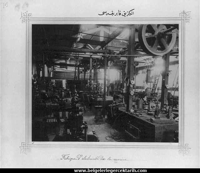 Abdülhamid döneminde yapilan fabrikalar elektrik üreten fabrika osmanli geri mi kaldi