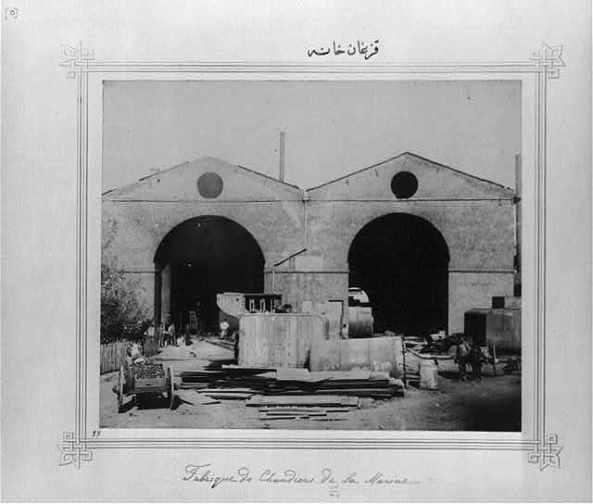 Abdülhamid döneminde yapilan fabrikalar kazan dökümhanesi osmanli geri mi kaldi