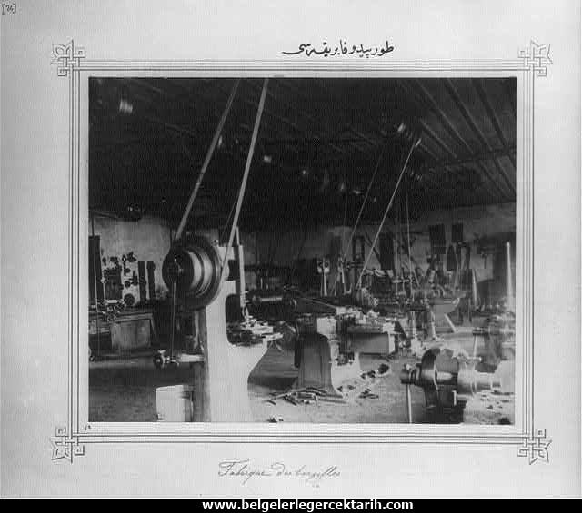 Abdülhamid döneminde yapilan fabrikalar torpido fabrikasi osmanli geri mi kaldi