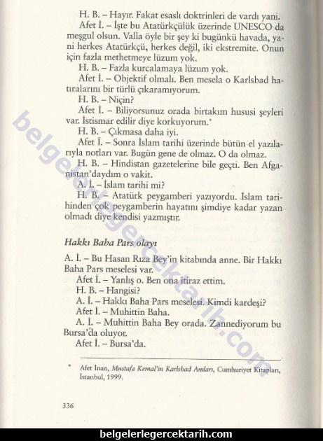 atatürk afet inan resmi tarih sansür atatürk islam