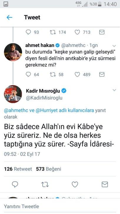 Kadir Misiroglu Ahmet Hakan tartismasi 2