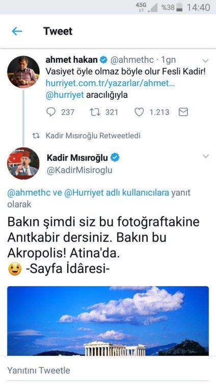 Kadir Misiroglu Ahmet Hakan tartismasi