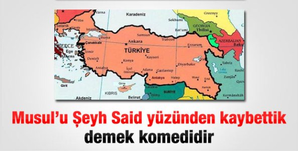 Musulu nasil kaybettik, Atatürk musul, ismet inönü musul, Lozan musul, m. kemal musul, musulu lozanda mi verdik, Seyh Said Musul, Musul petrol