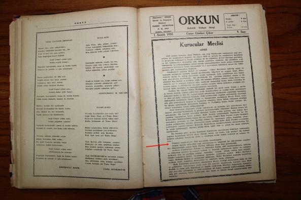 nihal atsiz atatürk, orkun dergisi atatürk bozkurt mu atatürk m. kemal bozkurt