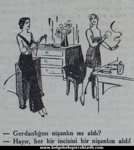 kemalizm ahlaksizligi chp Aksam Gazetesi, 1 Subat 1932, sayfa 6.