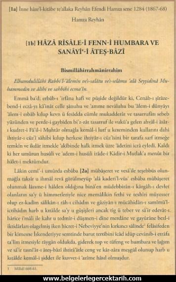 Osmanli geri mi kaldi, Osmanlida bilim, Osmanlinin cöküsü, Osmanli neden batti, Osmanlinin batisi, Osmanliyi kim yikti, Fenni Humbara ve atesli silahlar mustafa ibn ibrahim2