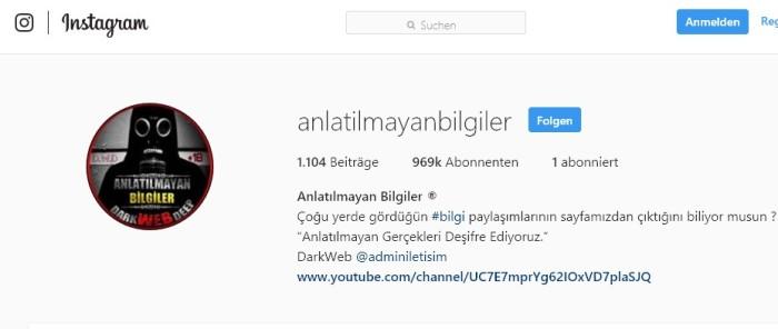 instagram anlatilmayan bilgiler youtube anlatilmayan bilgiler