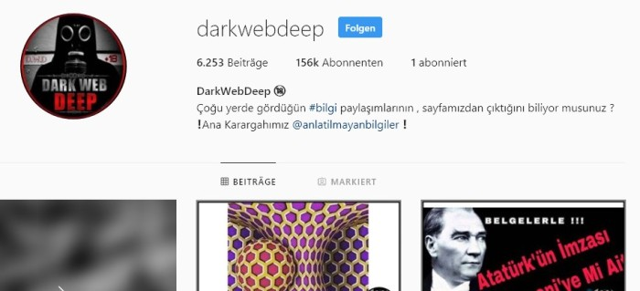 instagram darkwebdeep