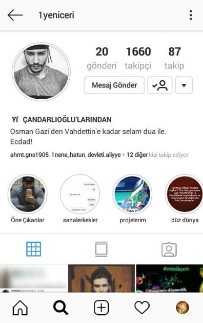 instagram sahtekari belgelerle gercek tarih