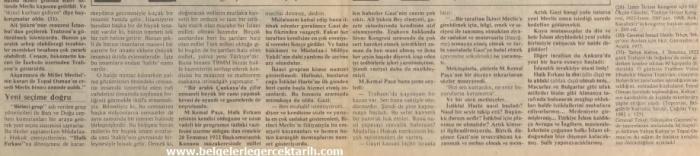 Kazim Karabekir hatiralar ugur mumcu cumhuriyet gazetesi, namusu olanlar kazanamazlar, nasil hiristiyan olacaktik, arapoglunun yaveleri 18 haziran 1990 cumhuriyet 4
