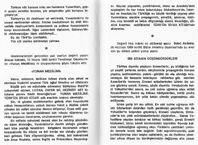 Kadir Misiroglu Yunan mezalimi Keske yunan galip gelseydi sözü 14
