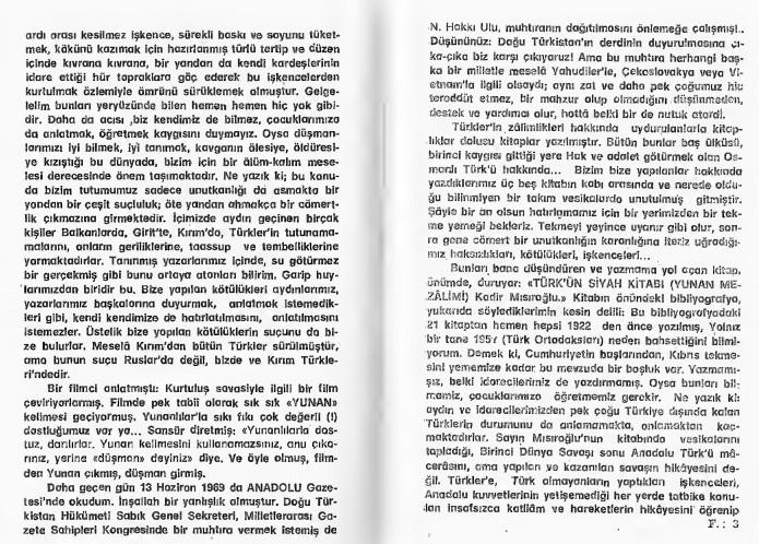 Kadir Misiroglu Yunan mezalimi Keske yunan galip gelseydi sözü 15