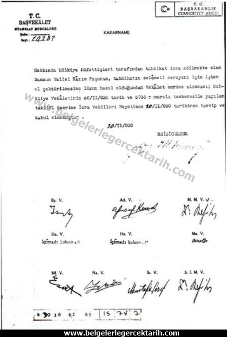 chp diktatörlügü m. kemal samsun valisi raki, m. kemal atatürk kazim inanc serbest cumhuriyet firkasi scf atatürk