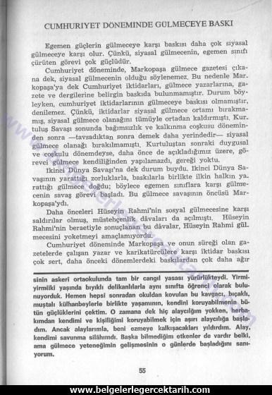 Aziz Nesin Atatürk, Aziz Nesin Chp, aziz nesin kemalizm, aziz nesin m. kemal basin sansürü, diktatörlük aziz nesin cumhuriyet döneminde türk mizahi 2