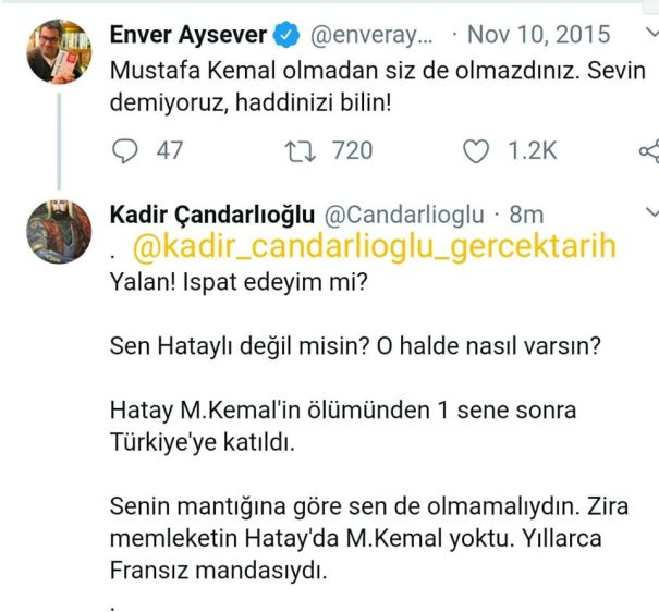 Enver Aysever Hatay m.kemal Atatürk Kadir Candarlioglu enver aysever kapak