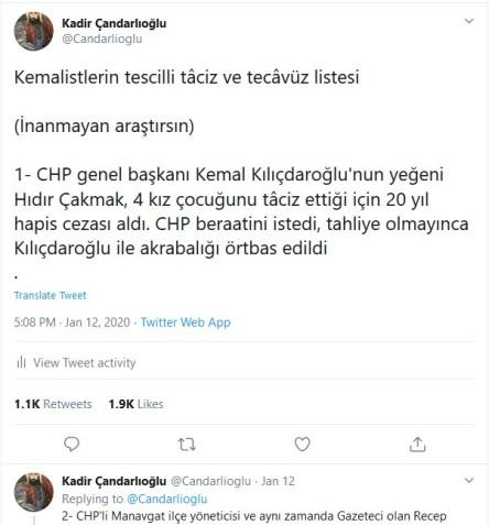 Murad Bozkus kemalistlerin tescilli taciz ve tecavüz listesi Süleyman Özisik intihal1