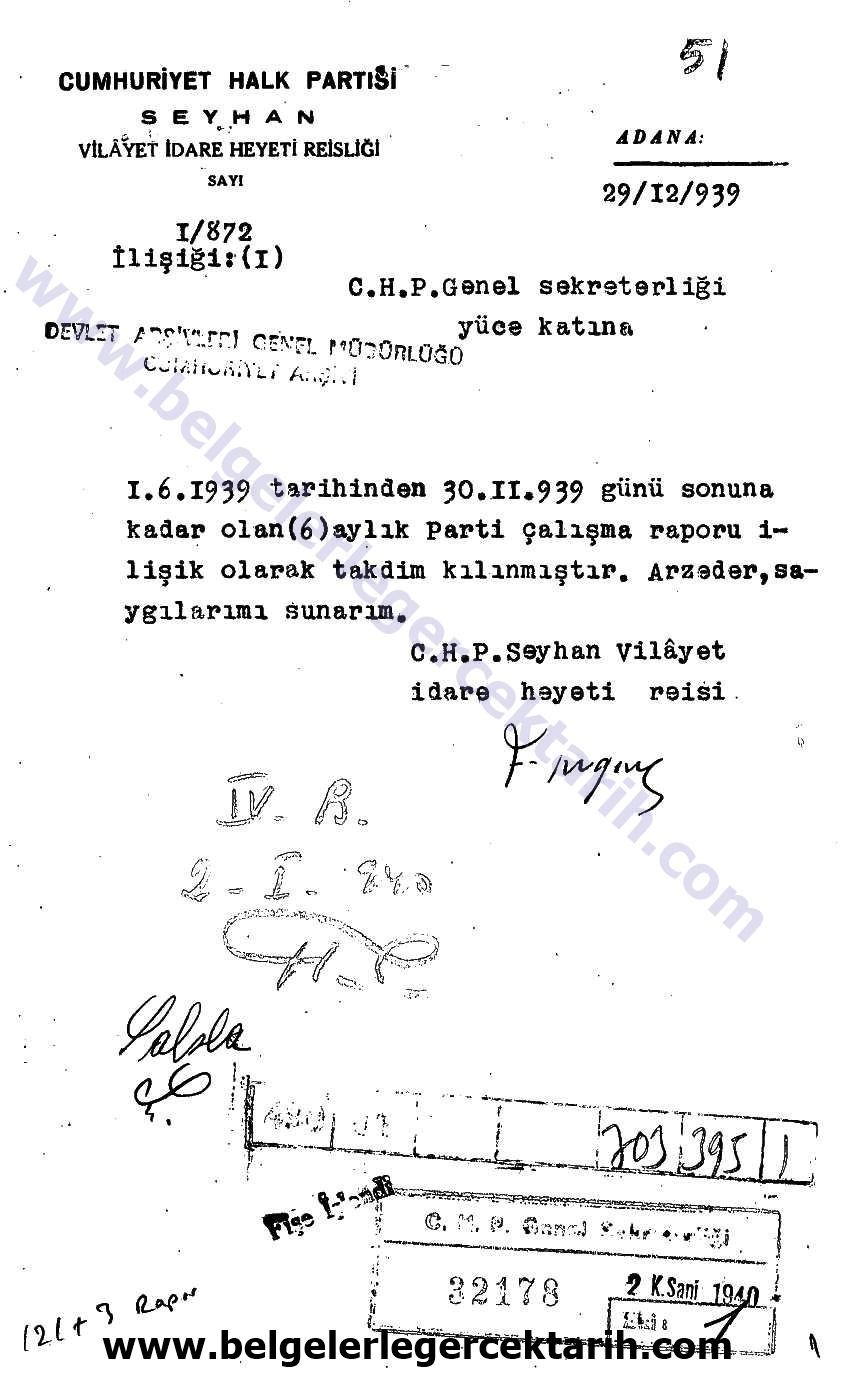 chp'nin kuvayi milliye ihaneti belge 1